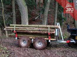ATV trailer Waldarbeiter