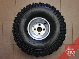 Reifen mit Scheibe 12