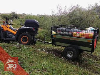 ATV trailer gartner fur atv