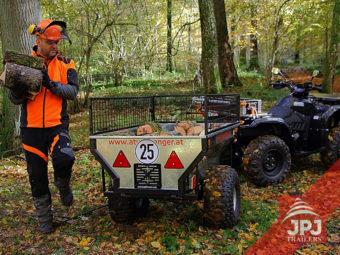 ATV Trailer Gärtner und ArbeitsATV