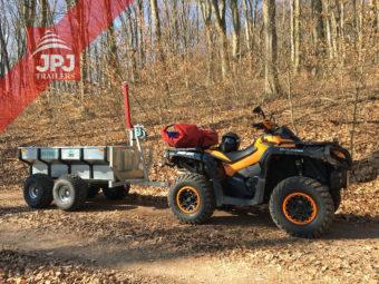 Quad Can Am und ATV Trailer Profi Arbeiter